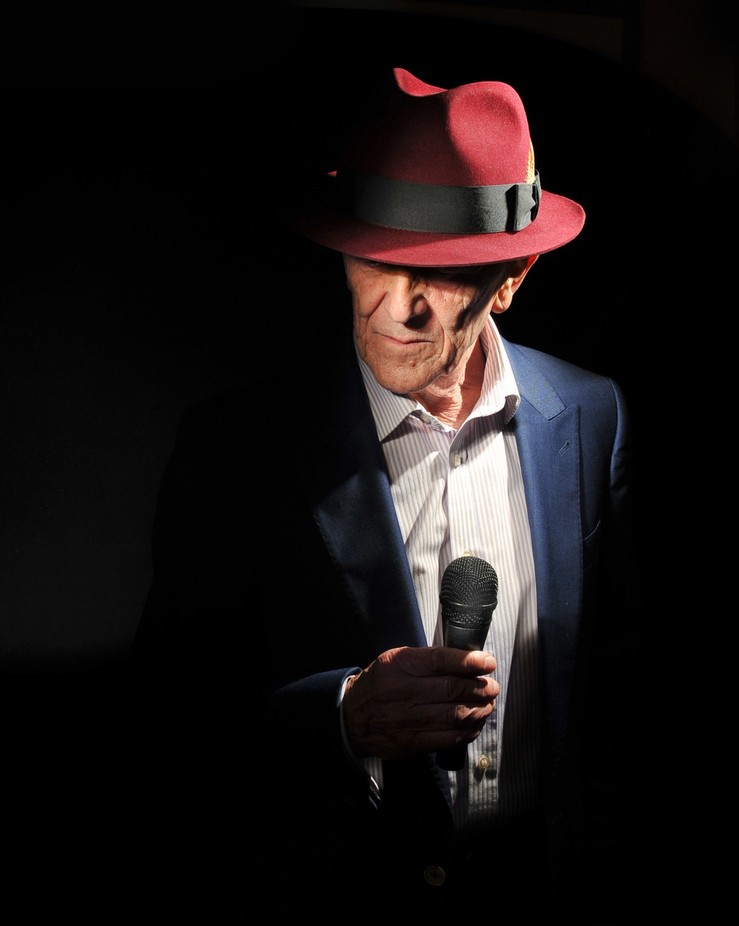 Blues Man in a Red Hat by deemcintosh - On Stage Photo Contest