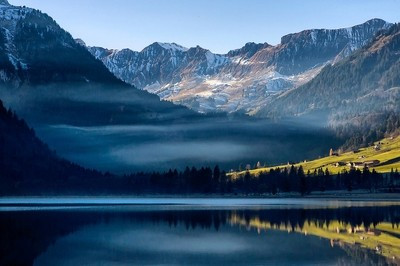 postcard from Switzerland