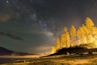 Milky Way from Bass Lake