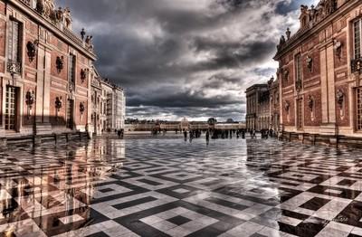 Versailles Castle reflections