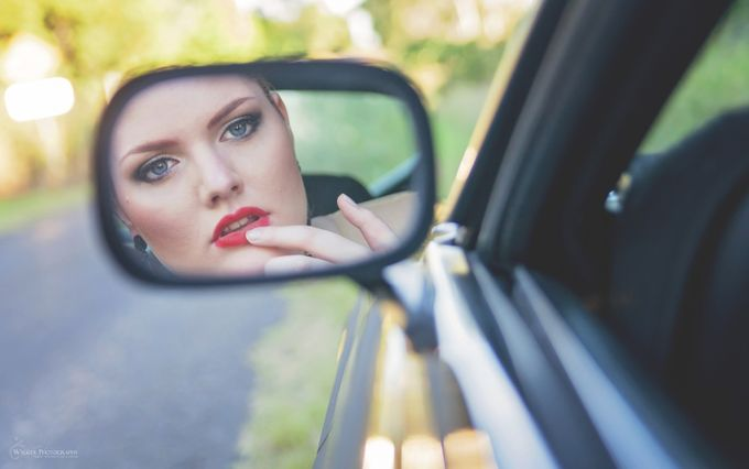 Reflection by lindywalker - The Face in the Mirror Photo Contest