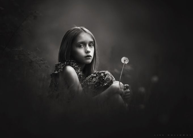 The Dandelion by lisaholloway - Dramatic Portraits Photo Contest