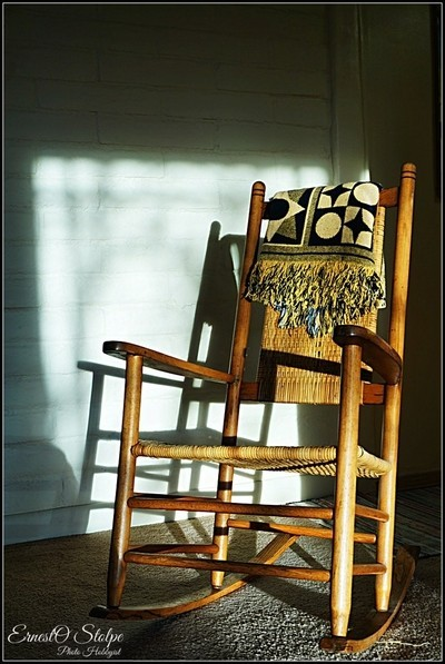 Shaker Style Rocking Chair & Shadow