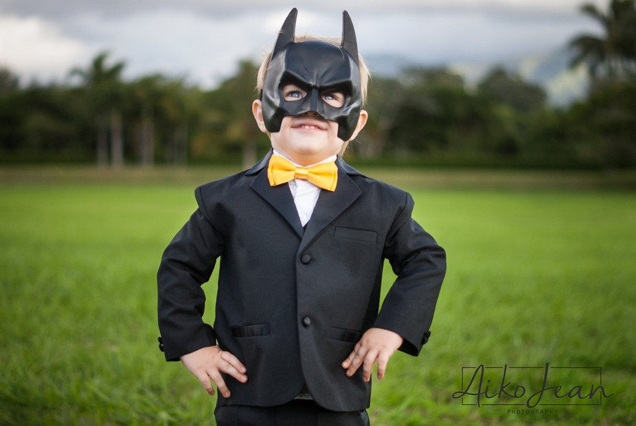 Our son loves everything Batman, so for his 3rd birthday we have embraced his alter ego with a st...