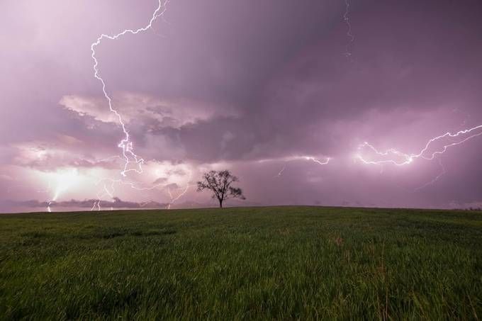 Lightning storm  by Dilleo22 - Energy Photo Contest