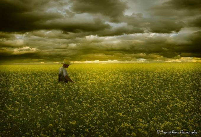 Happy Farmer by Inspire4More - Lost In The Field Photo Contest