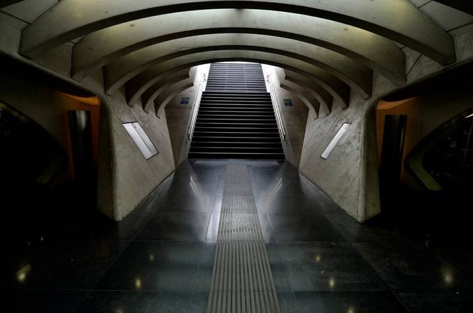 Guillemins, railway station of Liège by Pjerry - Public Transport Hubs Photo Contest