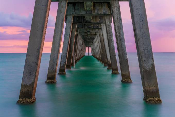 Stormy Sunset by bellzax - The View Under The Pier Photo Contest
