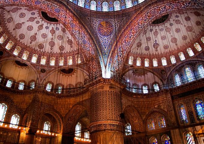 Blue Mosque by PeterEvans23 - Classical Architecture Photo Contest