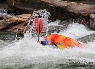 Kayaker Lindsay