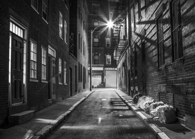 salem st_b+w by Bretond1 - Depth In Black And White Photo Contest