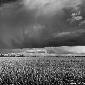 The big skies of the Cambridgeshire Fens