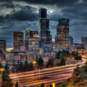 I am continuing to work my way through all of the Seattle photography hot spots. This photo was captured from the Jose Rizal Bridge - a popular s...