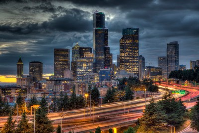 Seattle from Jose Rizal Bridge