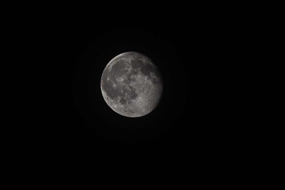 The moon on 04/06/2015