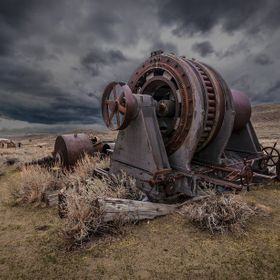 Rusty Machine in Bodie