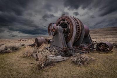 Rusty Machine in Bodie