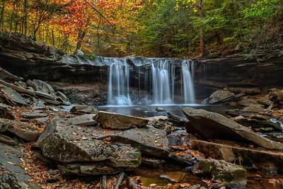Oneida Waterfall, Ricketts Glen State Park, Pennsylvania.