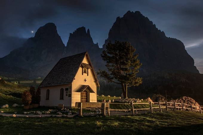 Late evening at Sassolungo by jamesrushforth - Around the World Photo Contest By Discovery