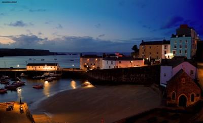 Warm harbour nights