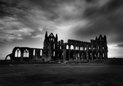 Whitby Abbey at Dusk