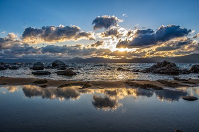 Sundown at Sand Harbor