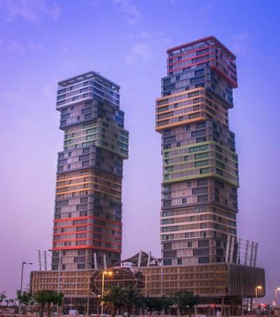 Twin Towers, Lusail City, Qatar