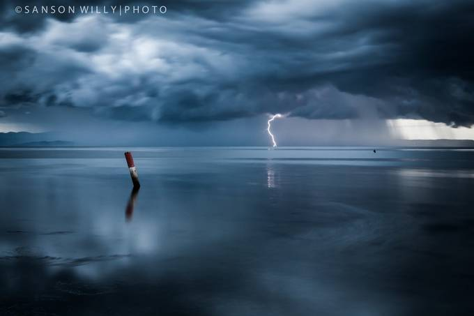 In the storm by willysanson - The Moving Clouds Photo Contest