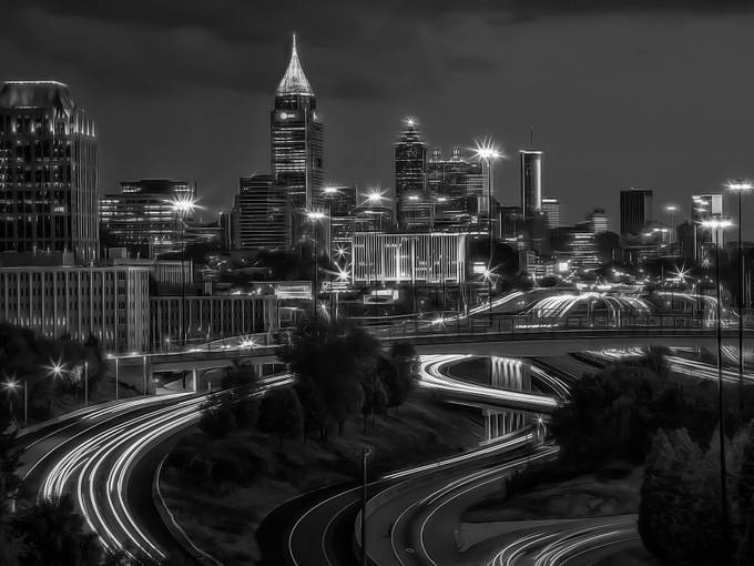 Atlanta by AnitaHogue - City Life In Black And White Photo Contest