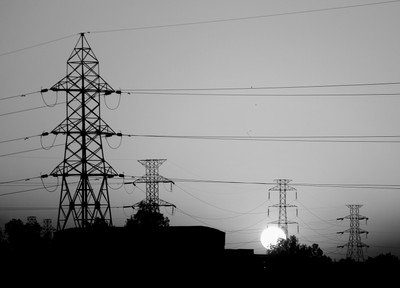 Towers & Sunset