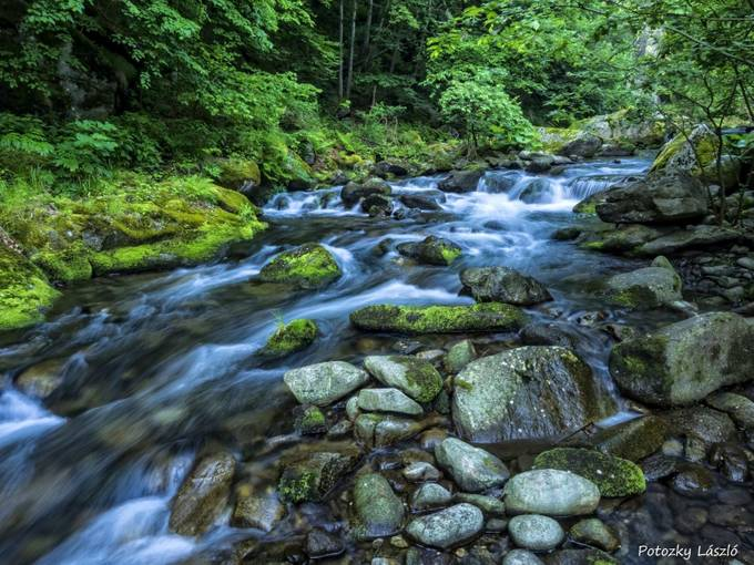FairyTale River by lszlpotozky - Streams In Nature Photo Contest