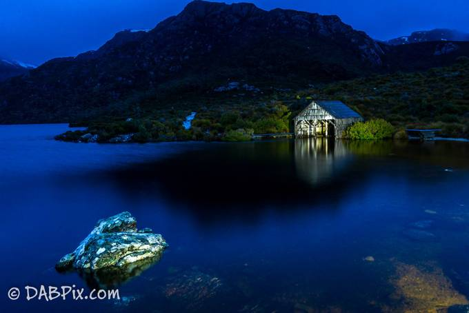 Dove Lake Boathouse by danielbaxter - Layered Compositions Photo Contest