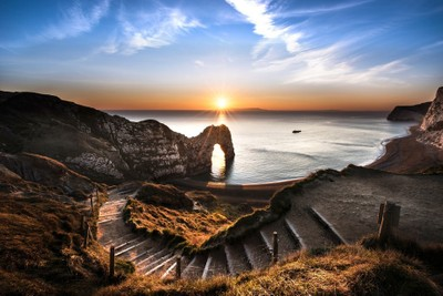 Durdle Door Starburst