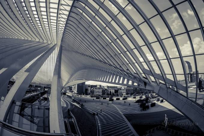 Guillemins by AnthonyAlpha - Public Transport Hubs Photo Contest