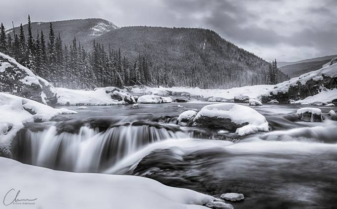 Fall Blues by chrisgreenwood - Black And White Compositions Photo Contest