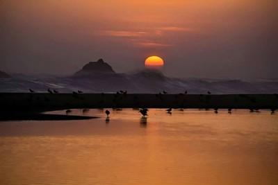 Sunset en maretaso