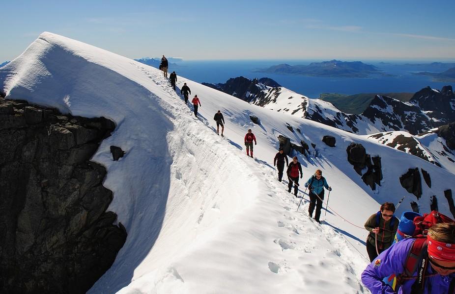 Over the Glacier