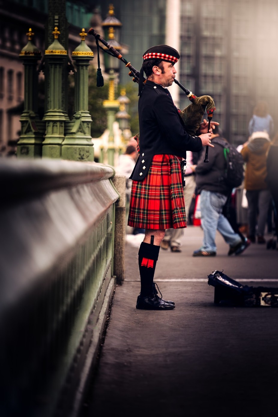 Piper in London by rbhalla - Discover Europe Photo Contest