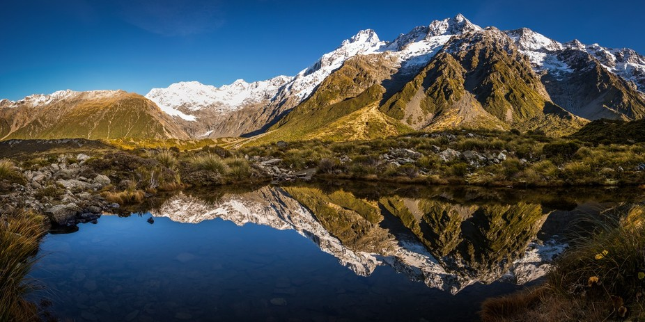 Reflection Pool at Hooker Valley