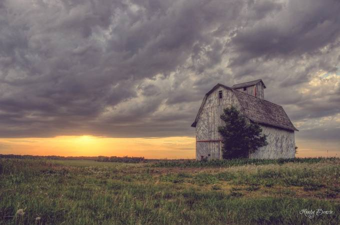 Hazy Days by randybenzie - Farming Photo Contest