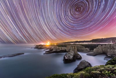 Star Trails over Davenport