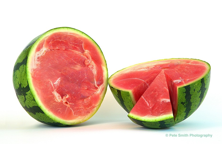 Just messing around with images. Shot the watermelon and meat separately and combined them in pho...