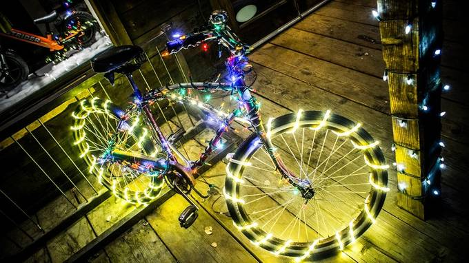 The Amazing Technicolor DreamRide by AWAAphotos - Holiday Lights Photo Contest 2017