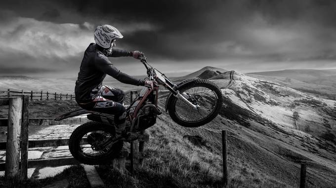 Trials Bike by karlredshaw - Fences Photo Contest