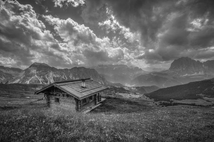 mountain hut by johnphillips - Isolated Cabins Photo Contest