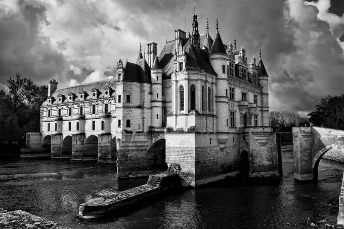 Chenonceau by SteveCrampton - Classical Architecture Photo Contest