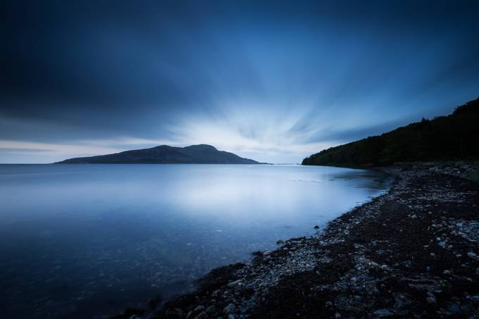 Pre Dawn on Holy Island, Arran by DrawsWithLight - Light On Water Photo Contest