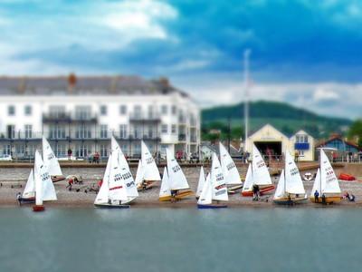 Yachts at Sidmouth