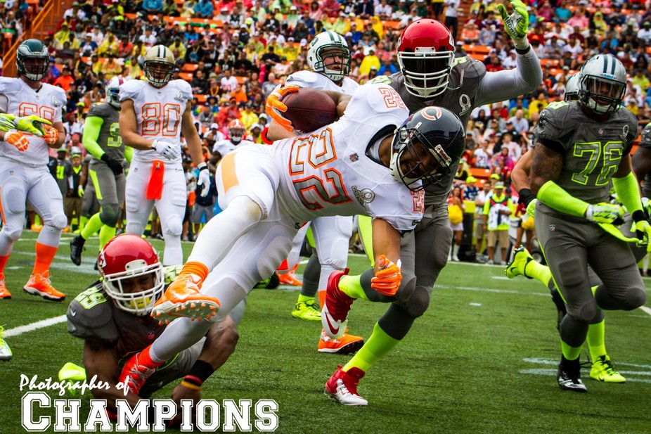 The 2014 NFL Pro Bowl... right place... right time!