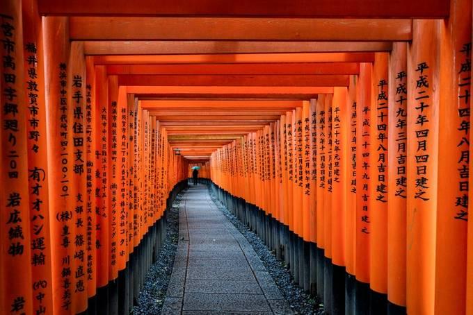 Fushimi Inari Taisha Shrine, Kyoto-817476 by Patosan - Parallel Compositions Photo Contest